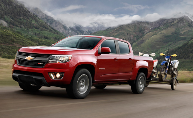 2015 GM Midsize Truck Tow Ratings, Official HP Revealed