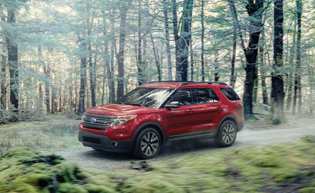 2015 Ford Explorer Gets Cosmetic Updates