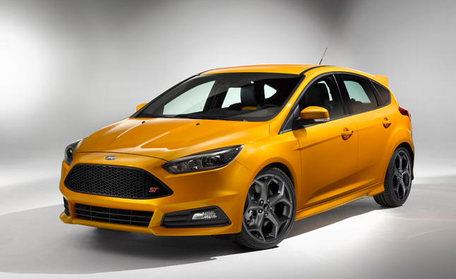 2015 Ford Focus ST Facelift Revealed at Goodwood