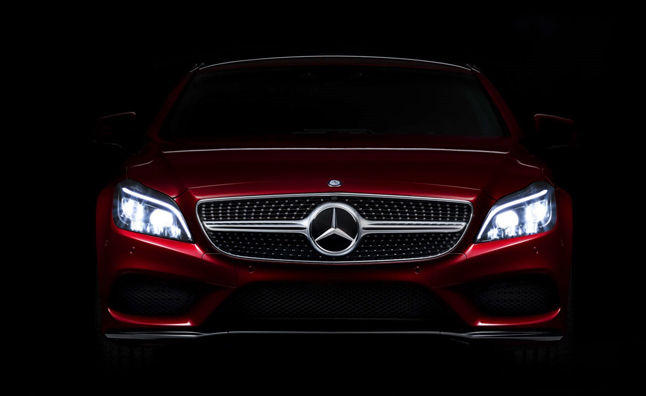 2015 Mercedes CLS Teased Before of Goodwood Debut