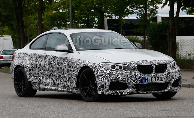 2016 BMW M2 Spy Photos