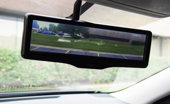 Nissan's Smart Rearview Mirror is Like X-Ray Vision