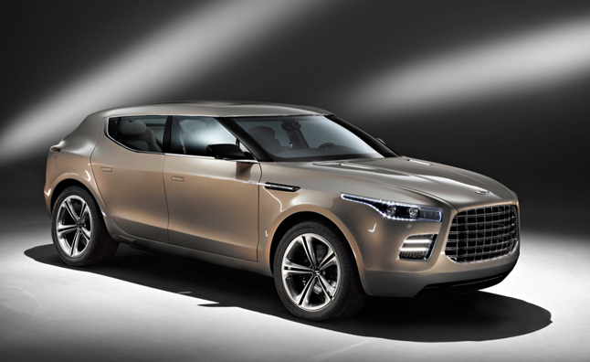 Aston Martin Lagonda to Launch as Limited Production Sedan