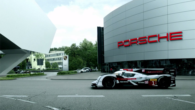 Audi Welcomes Porsche Back to Le Mans Racing