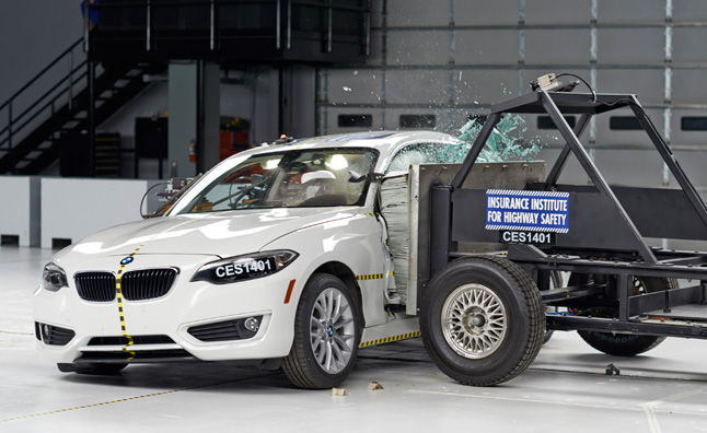 BMW 2 Series Earns IIHS Top Safety Pick Plus