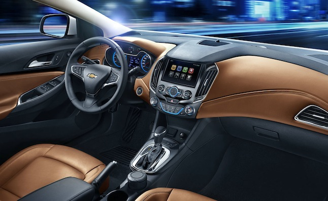 New Chevy Cruze Interior Revealed…for China