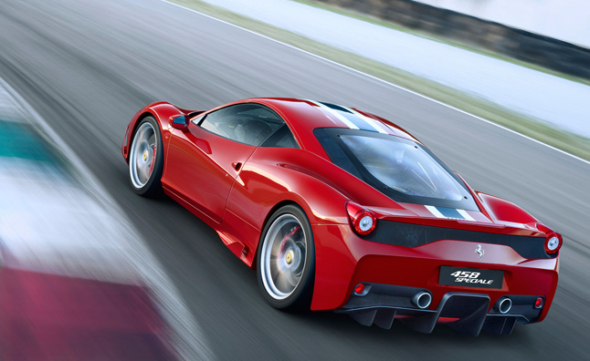 Ferrari 458 Turbo Details Surface