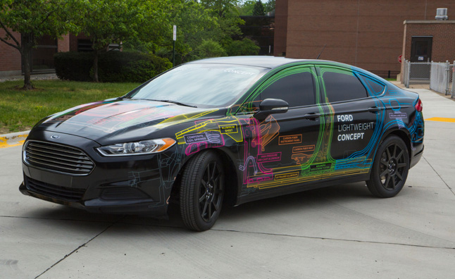 Ford Builds a Fusion That Weighs as Little as a Fiesta