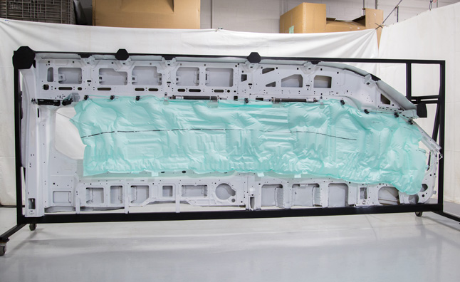Ford Transit gets Industry's Only Five-Row Airbag