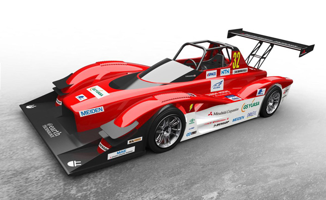 Mitsubishi MiEV Evolution III Heading to Pikes Peak