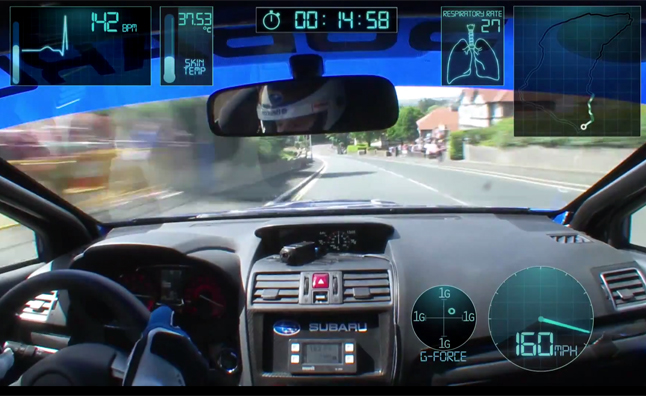 Watch the Subaru WRX STI Set an Isle of Man Lap Record