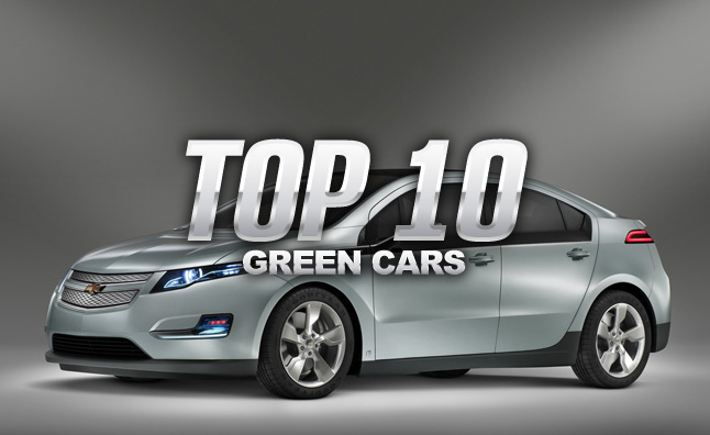 Top 10 Green Cars of 2014