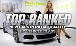 Top Ranked New Cars in Initial Quality by Vehicle Class