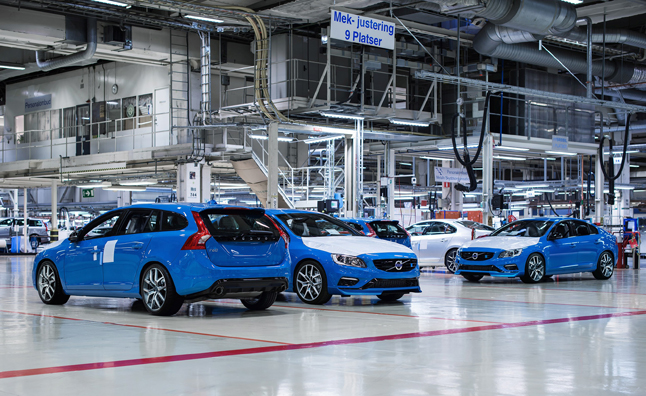 Volvo S60, V60 Polestar Production Begins