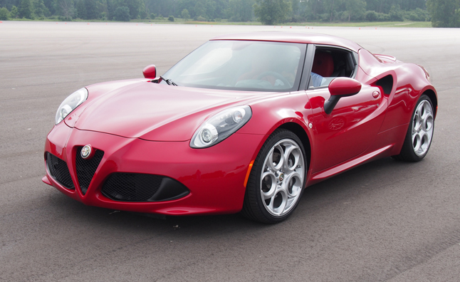 2015 Alfa Romeo 4C Main Art