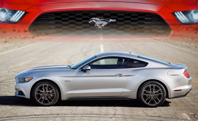 2015 Ford Mustang Weight to Power