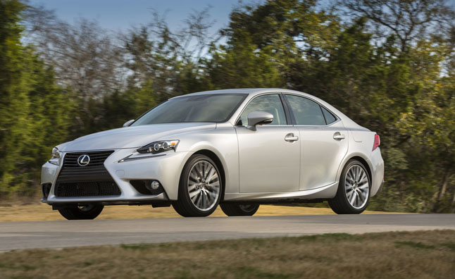 2015 Lexus IS gets Minor Tweaks, Small Price Increase