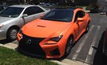 Lexus RC F Solar Flare Looks Stunning in Real Life