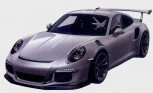 2015 Porsche 911 GT3 RS Revealed in Patent Filing