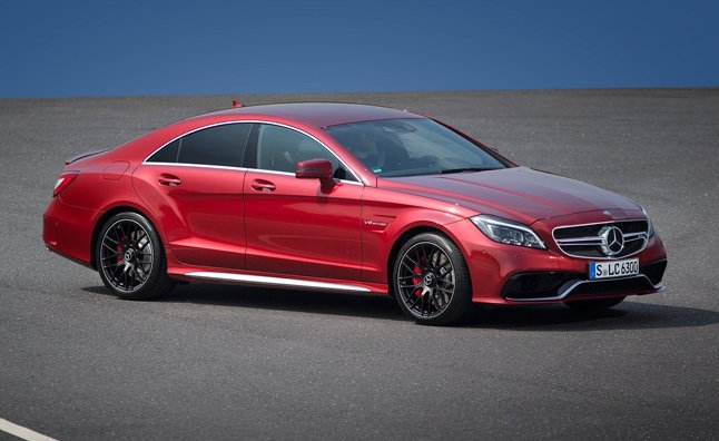 2015 Mercedes CLS63 AMG Adds 577-HP 'S' Model