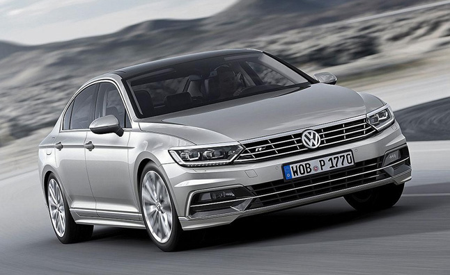 2015 Volkswagen Passat Revealed for Europe