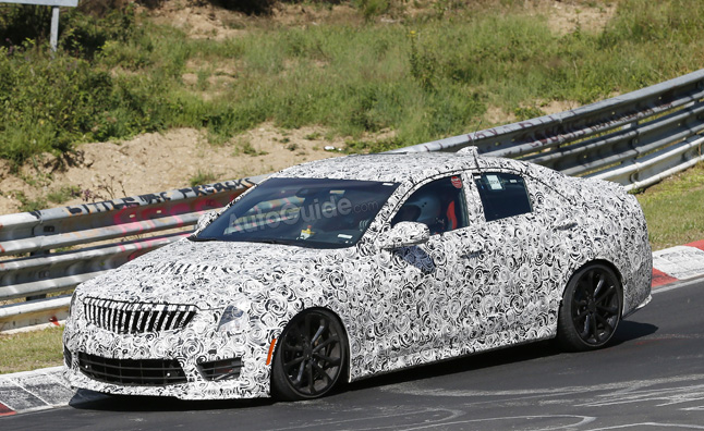 Cadillac ATS-V Hits the 'Ring in New Spy Photos