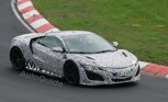 2016 Acura NSX Spied for First Time at the Nürburgring