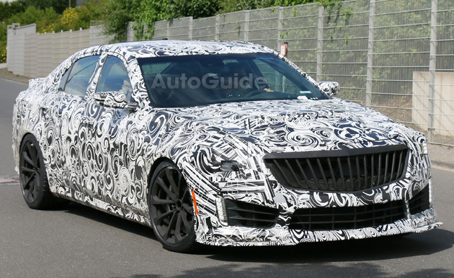 2016 Cadillac CTS-V Caught Testing Near the Nürburgring
