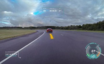 Jaguar Virtual Windshield Brings Video Games to Life