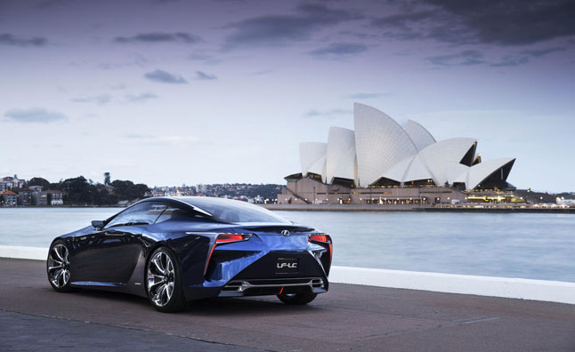 Lexus LF-LC Production to Commence in 2016