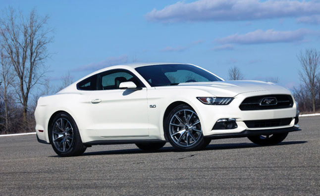 2015 Ford Mustang Curb Weights Revealed
