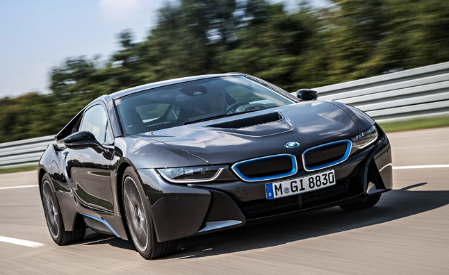 BMW i8 Packages, Options Revealed