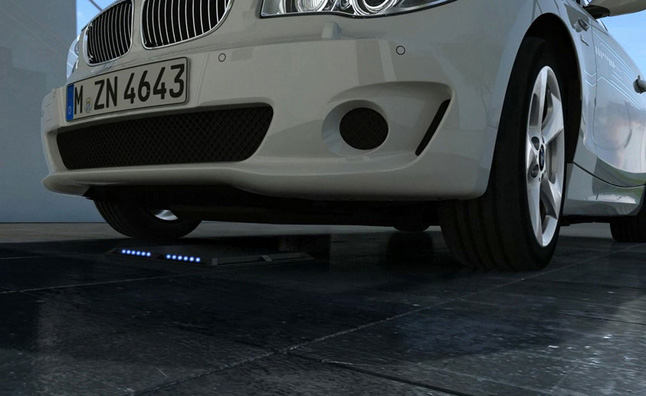 BMW Previews Wireless Charging Technology for 'i' Cars