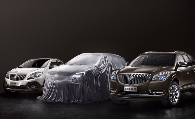 Buick Envision Teased Ahead of Debut in China