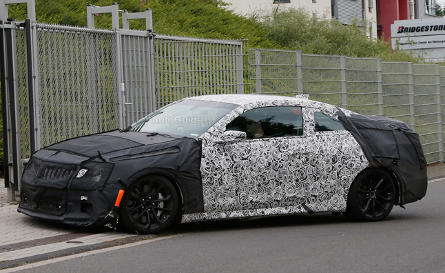 Cadillac ATS-V Coupe Spied Testing in Germany