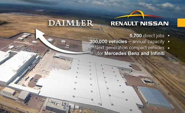Infiniti, Mercedes Officially Announce Mexico Plant