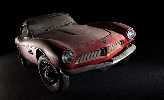 Elvis Presley's 1957 BMW 507 Roadster Being Restored
