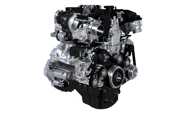 Jaguar Land Rover Details New Turbo Engine Family