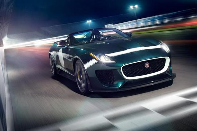 Jaguar F-Type Project 7 to Make Dynamic Debut at Le Mans Classic
