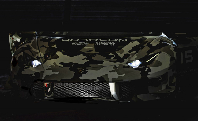 Lamborghini Huracán Super Trofeo Race Car Teased