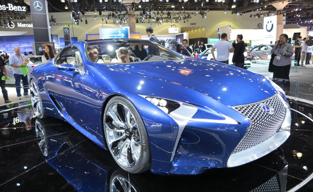 Lexus LF-LC Variant Getting 600-HP Twin-Turbo V8