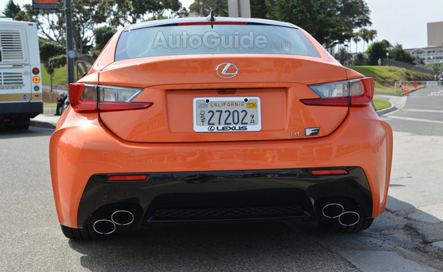 lexus rc-f exhaust