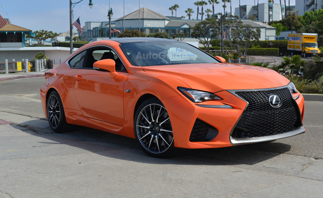 Lexus RC F Spotted in the Wild Once More