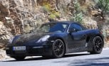 Porsche Boxster Spied Testing with Minor Facelift