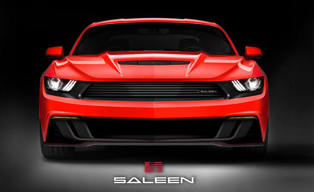 2015 Saleen Ford Mustang Teased