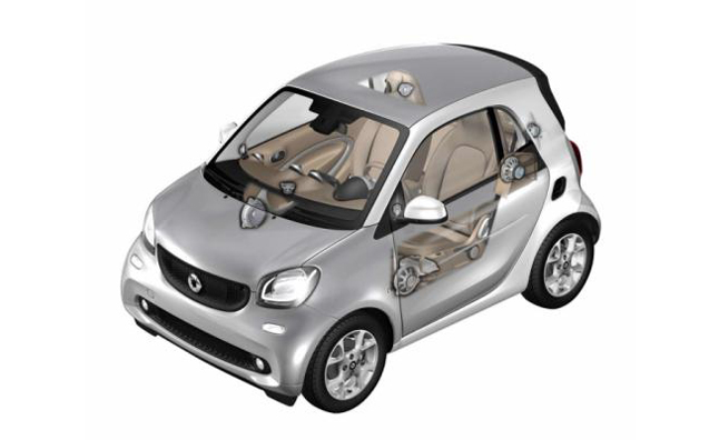 New Smart ForTwo, ForFour Leaked