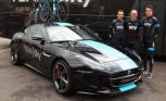 Jaguar F-Type Repurposed as Bike Carrier by SVO