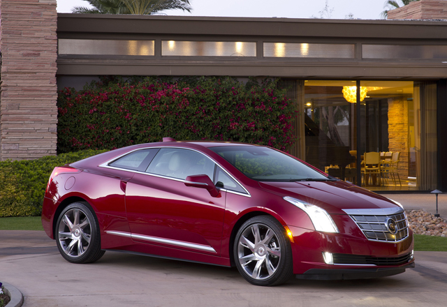 2014 cadillac elr red