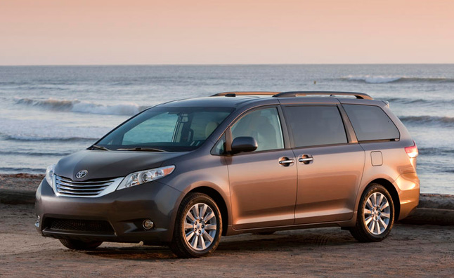 2014 Toyota Sienna Recalled for Transmission Issue