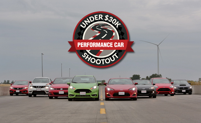 AutoGuide Under $30,000 Performance Car Shootout